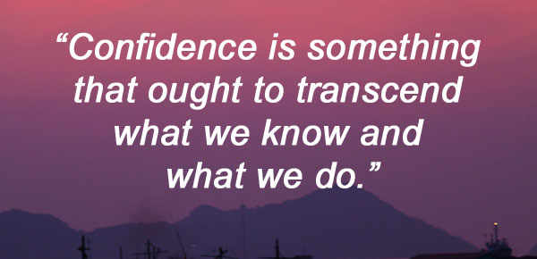 quotes about confidence by Barbara de Angelis