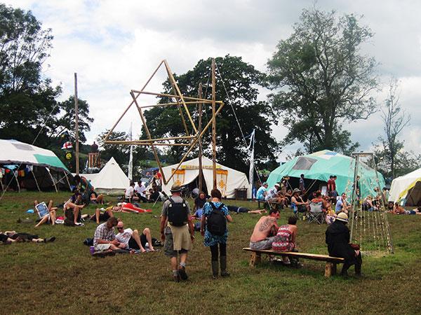 Glastonbury Festival Healing Fields