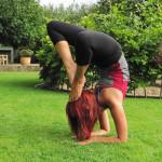 How to do the yoga forearm scorpion asana (Vrischikasana)