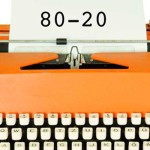 Increase your productivity with the 80-20 rule