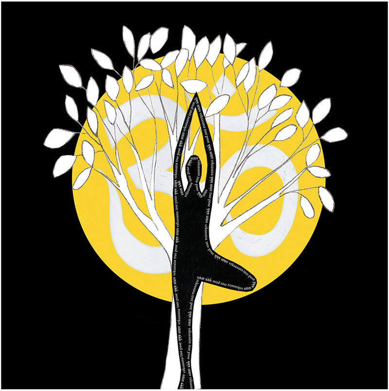 yoga-tree-pose-art-print