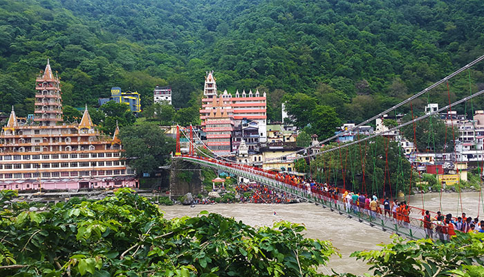 Rishikesh suspension bridge
