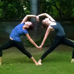 7 partner yoga photos from my yoga TTC in Rishikesh