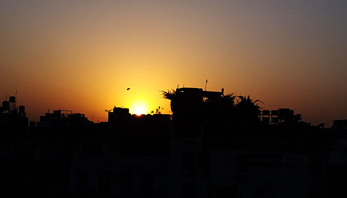 Delhi-sunset