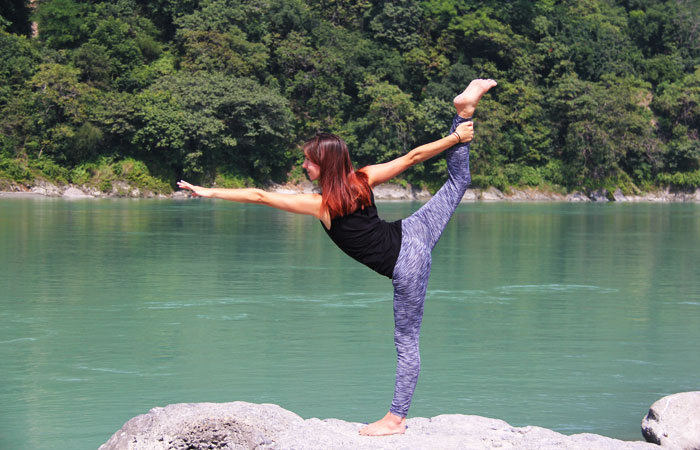 Natarajasana, Dancer's pose