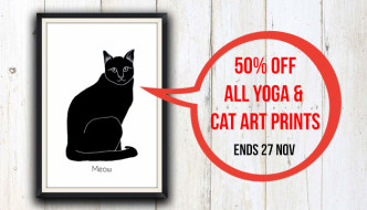 Black Friday weekend sale — 50% off all art prints