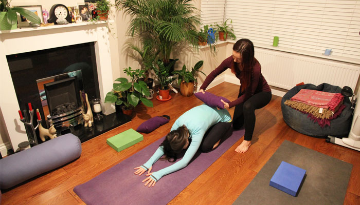 Private yoga sessions in London