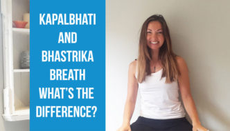 What's the difference between Kapalbhati and Bhastrika breath? How to practise both