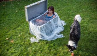 Wim Hof Method: ice bath video